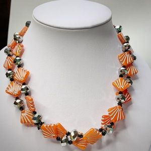 """Extra Long (36"""") Eccentric Beaded Necklace"""
